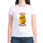 Golf Chick 2 Jr. Ringer T-Shirt