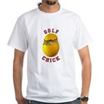 Golf Chick 2 White T-Shirt