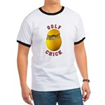 Golf Chick 2 Ringer T