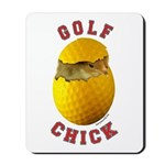 Golf Chick 2 Mousepad