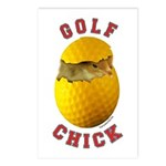 Golf Chick 2 Postcards (Package of 8)