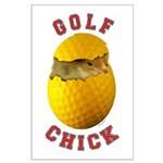 Golf Chick 2 Large Poster