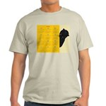 Dinosaur Silhouette Light T-Shirt (blue/yellow)