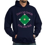 Cancer Steal 2nd Base Hoodie