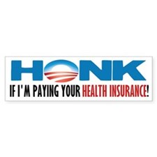 Honk! Bumper Car Sticker