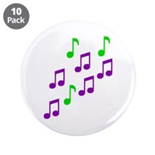 "Music 3.5"" Button (10 pack)"