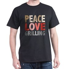 Peace Love Grilling T-Shirt