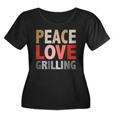 Peace Love Grilling T