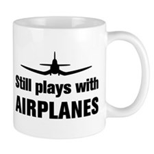 Still plays with Airplanes-Co Mug