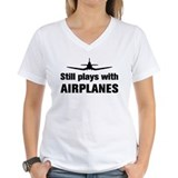 Still plays with Airplanes-Co  Shirt