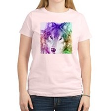 Wolf Gaze Art T-Shirt