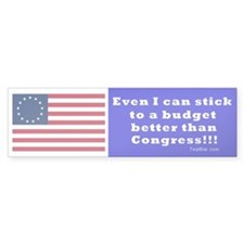 Budget better than Congress - Blue