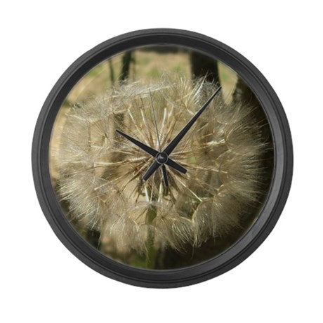Square Bloom Large Wall Clock