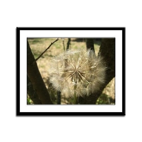 Square Bloom Framed Panel Print