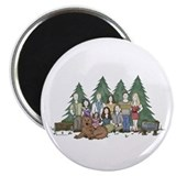 Twilight Family Characteriture Magnet