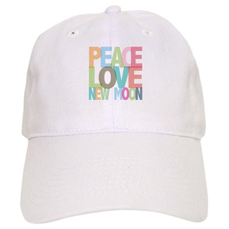 Peace Love New Moon Cap