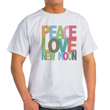 Peace Love New Moon Light T-Shirt