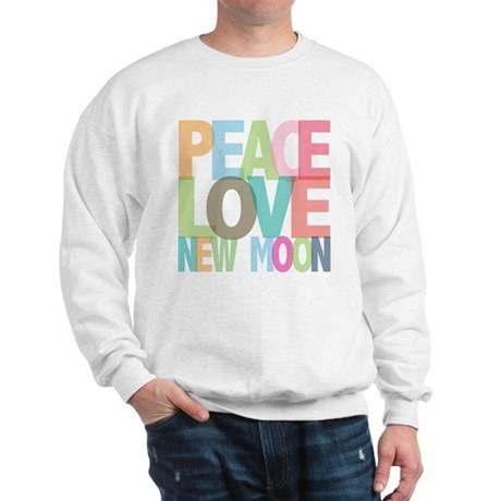 Peace Love New Moon Sweatshirt