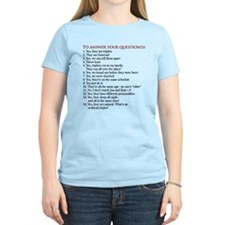 If you have BBB Fraternal Triplets... T-Shirt