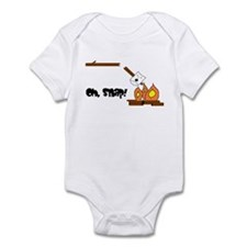 Oh Snap Roasting Marshmallow Infant Bodysuit