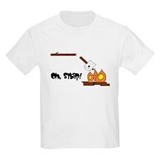Oh Snap Roasting Marshmallow T-Shirt