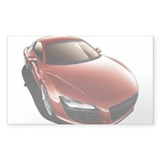 R8 Red Rectangle Decal