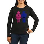 Men Vs. Women Women's Long Sleeve Dark T-Shirt