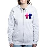 Men Vs. Women Women's Zip Hoodie