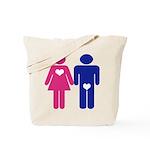 Men Vs. Women Tote Bag