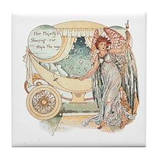 Walter Crane Tile Coaster