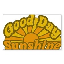 Good Day Sunshine Rectangle Decal