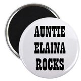 AUNTIE ELAINA ROCKS 2.25&quot; Magnet (10 pack)