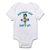 Surf's Up Birthday Boy Infant Bodysuit