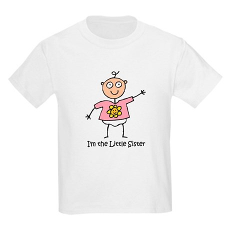 I'm the Little Sister Kids Light T-Shirt