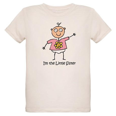 I'm the Little Sister Organic Kids T-Shirt