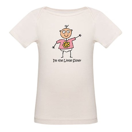 I'm the Little Sister Organic Baby T-Shirt