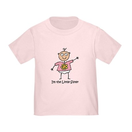 I'm the Little Sister Toddler T-Shirt