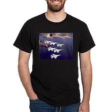 Thunderbirds Black T-Shirt