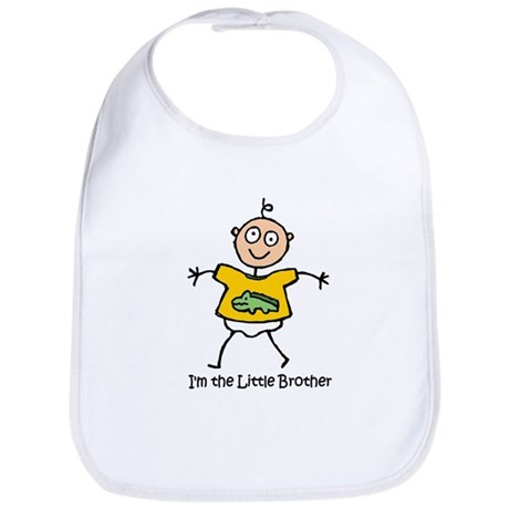 I'm the Little Brother Bib