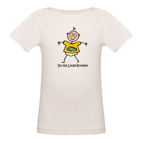 I'm the Little Brother Organic Baby T-Shirt