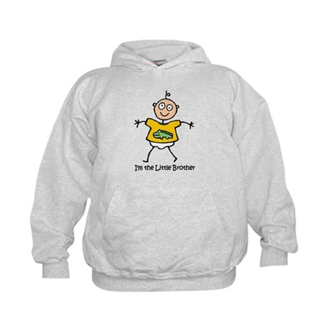 I'm the Little Brother Kids Hoodie
