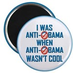 "I was Anti Obama 2.25"" Magnet (100 pack)"