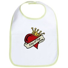 King of Pop Bib