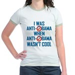 I was Anti Obama Jr. Ringer T-Shirt