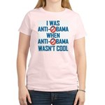 I was Anti Obama Women's Light T-Shirt