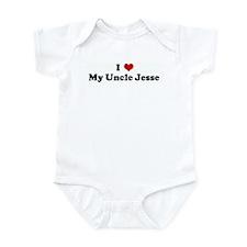 I Love My Uncle Jesse Infant Bodysuit