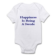 Happiness Is Being A Swede Infant Creeper