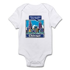 What you talkin Bout Willis Infant Bodysuit