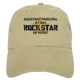 Asst Principal RockStar by Night Baseball Cap