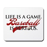 Life is a Game. Mousepad